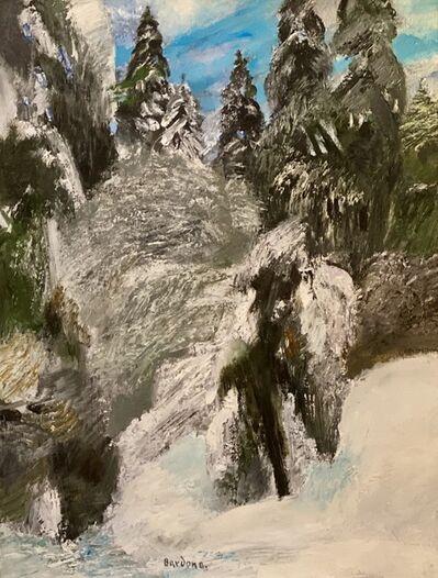 Guy Bardone, 'L'arbre givré, Jura', 1968