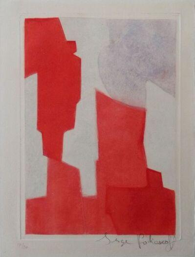 Serge Poliakoff, 'Composition rouge et bleue  XX', 1964