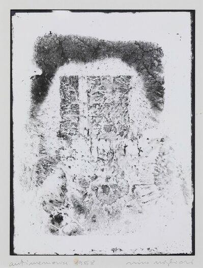 Nino Migliori, 'Anti Memoria', 1968