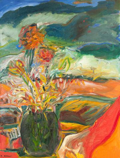 Yehouda Chaki, 'Flowers on a Winter Day 1821', 2018