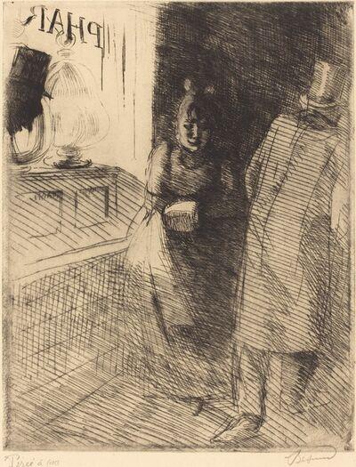 Albert Besnard, 'Prostitution (La Prostitution)', ca. 1886