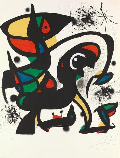 Joan Miró, 'Colpir Sense Nafrar 4 ', 1981