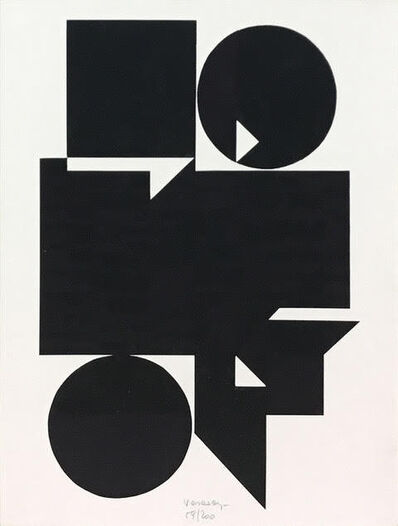 Victor Vasarely, 'OB ', 1956