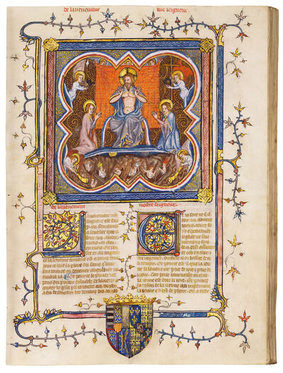 Boqueteaux Workshop, 'Légende dorée', 1375-1380