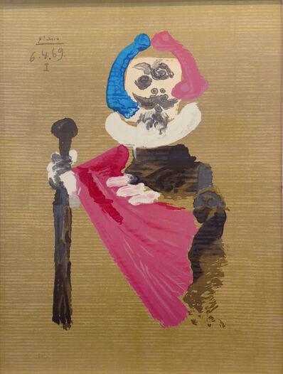 Pablo Picasso, 'Les portraits imaginaires 6.4.69 I', 1971