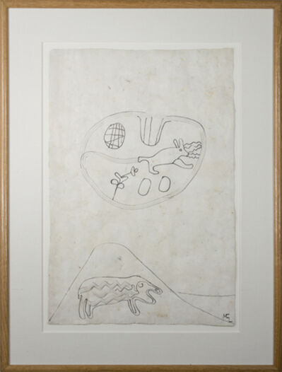 Miguel Castro Leñero, 'Sheep, Rabbit in Desert', 1991