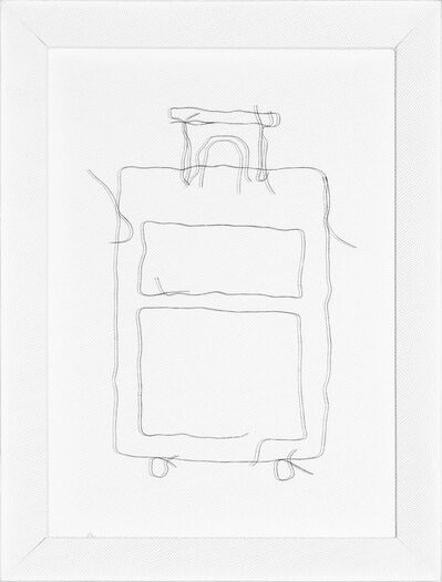 Claudia Casarino, 'Prácticas de Tránsito (suitcase)', 2015
