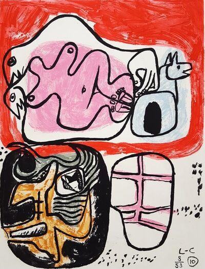 Le Corbusier, 'Unité, Planche 10 (Set of 2)', 1965