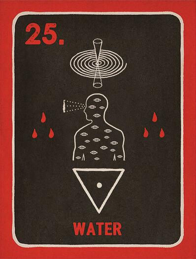 Daniel Martin Diaz, '25. Water', 2018