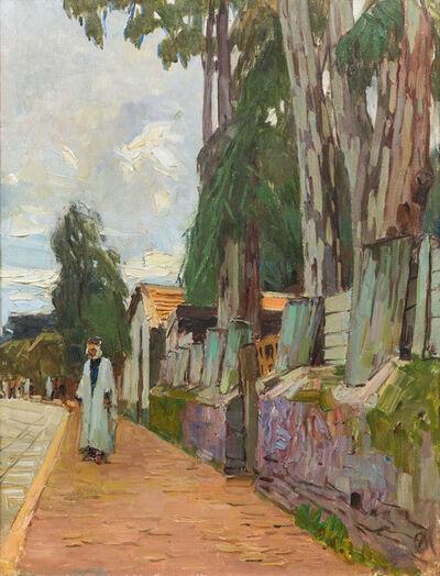 Carl Moll, 'Street in Algier', 1930