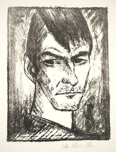 Otto Mueller, 'Selbstbildnis nach rechts (2)', 1921-1922