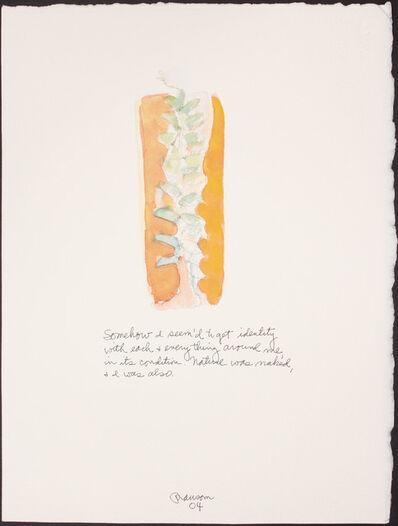 John Ransom Phillips, 'Somehow I seem'd...', 2004
