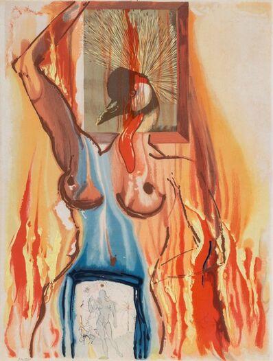 Salvador Dalí, 'Le Phenix, from Alchemie des Philosophes', 1975