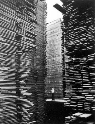 Alfred Eisenstaedt, 'Lumberyard, Seattle, Washington', 1937