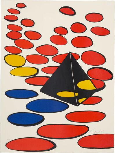 Alexander Calder, 'Pyramid And Discs'