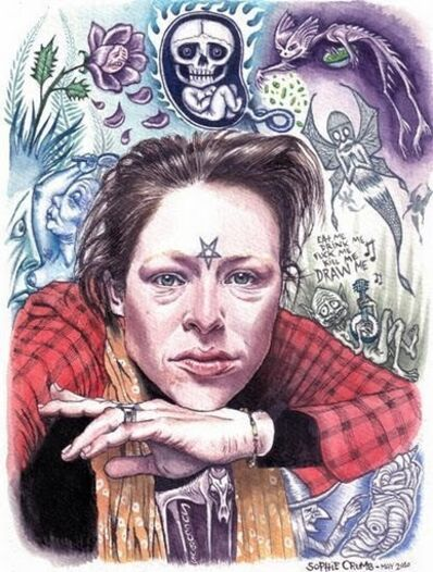 Sophie Crumb, 'Self portrait', 2010