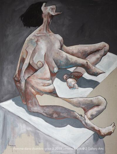 Jerome Rapin, 'Femme Dans Chambre Grise 3', 2019