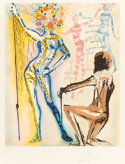 Salvador Dalí, 'The Ballet of the Flowers', 1980