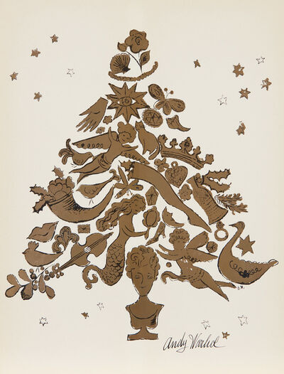 Andy Warhol, 'Christmas Tree', 1957
