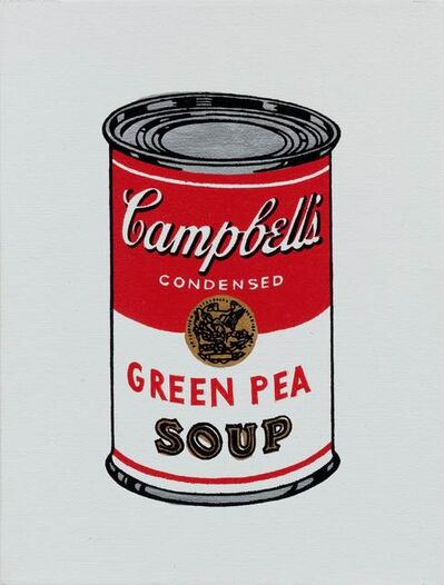 Richard Pettibone, 'Andy Warhol 'Campbell's Soup Can: Green Pea Soup'', 1987