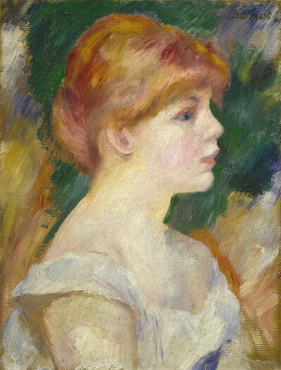 Pierre-Auguste Renoir, 'Suzanne Valadon', ca. 1885