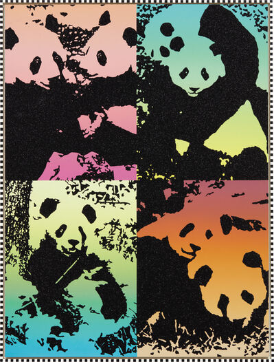 Rob Pruitt, 'Summer Love (Pandas)', 2016