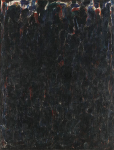 Sam Francis, 'Untitled (Black Clouds)', 1952