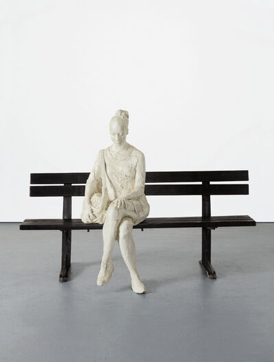 George Segal, 'Woman on Park Bench', 1998