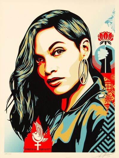 Shepard Fairey, 'Power & Equality: Dove', 2019