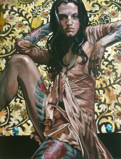 Belinda Eaton, 'Woman with Turquoise Eggs', 2011