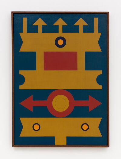Rubem Valentim, 'Emblema - Logotipo Poético', 1974