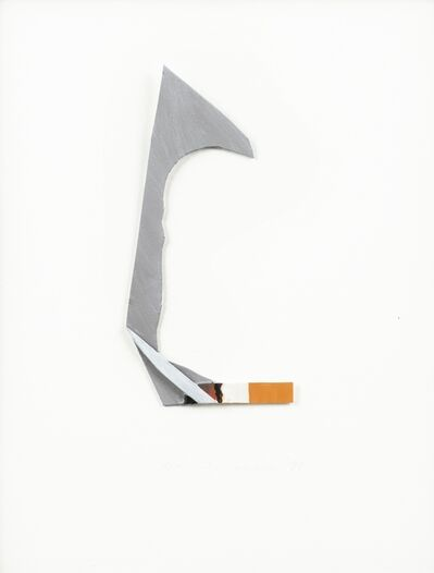 Tom Wesselmann, 'smoking cigarette', 1999