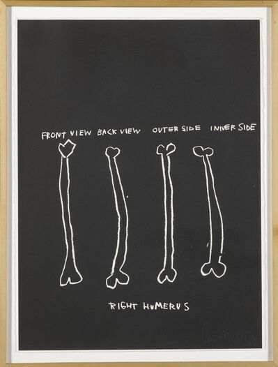 Jean-Michel Basquiat, 'Anatomy: 18 prints', 1982