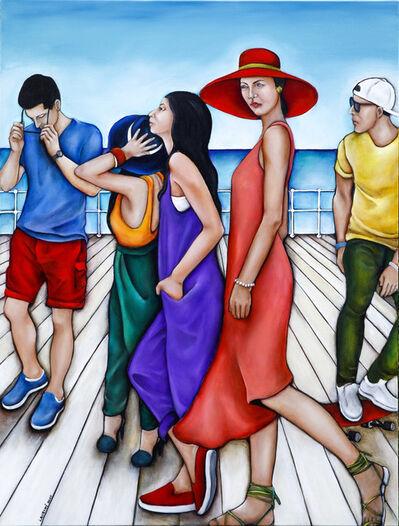 Lauryne Hart, 'The Boardwalk', 2016