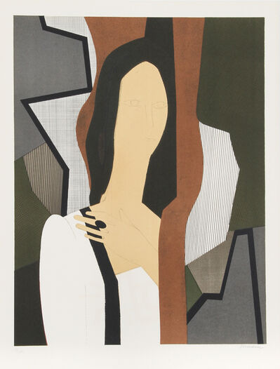 André Minaux, 'Haleine from the Helene Portfolio', 1974