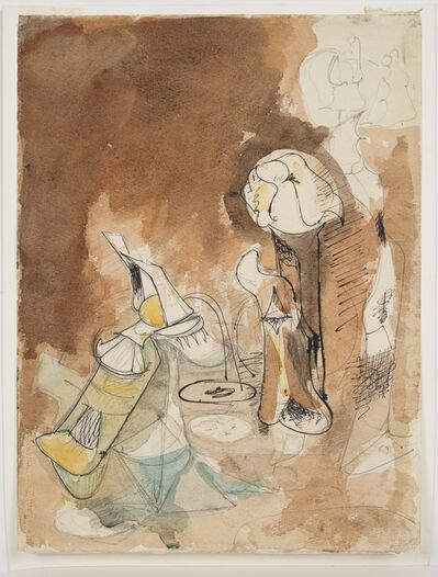 Arshile Gorky, 'Fireplace in Virginia', ca. 1946