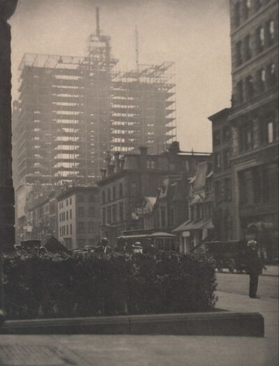 Alfred Stieglitz, 'Old and New, New York', 1910