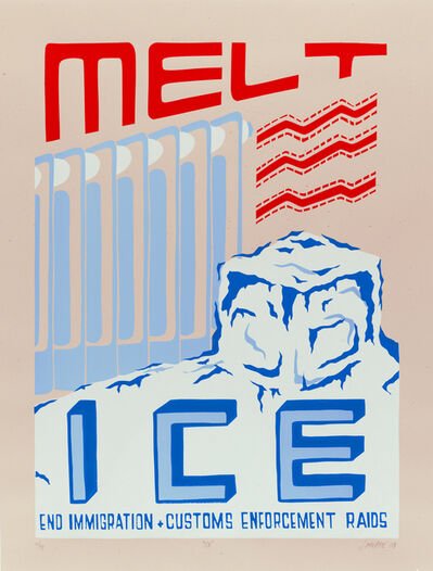 Josh MacPhee, 'Melt Ice', 2009