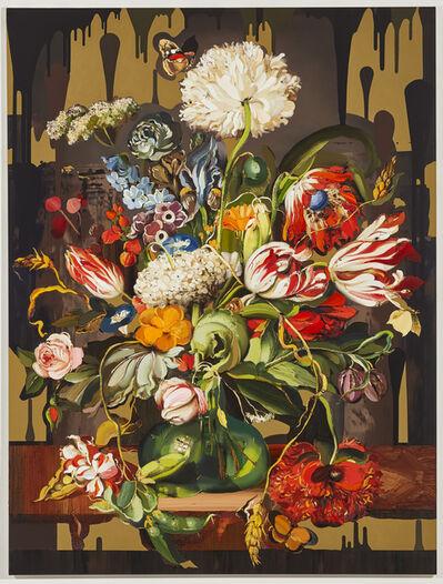 Jason Brooks, 'TBD (Flower Painting 3)', 2019