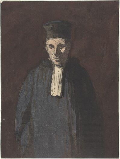Honoré Daumier, 'Prosecutor'