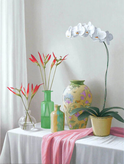 Renato Meziat, 'Green Vase', 2018
