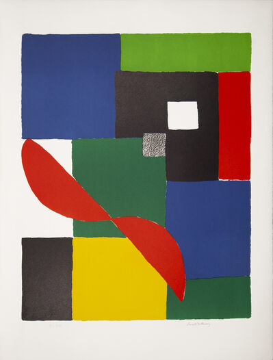 Sonia Delaunay, 'Hèlice rouge', ca. 1970