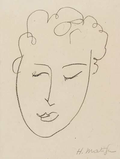 Henri Matisse, 'Tête de Femme (Duthuit Books 23)', 1948