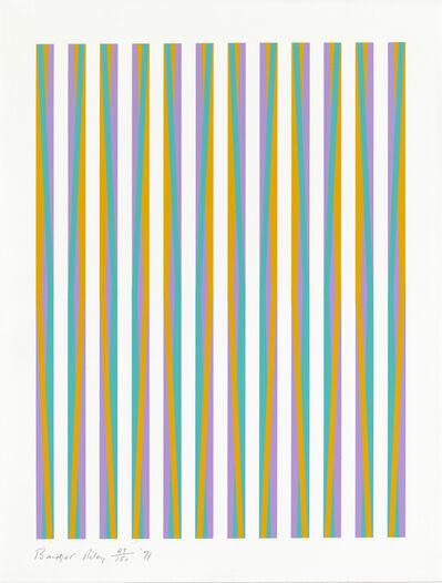 Bridget Riley, 'Print for Chicago 8', 1971
