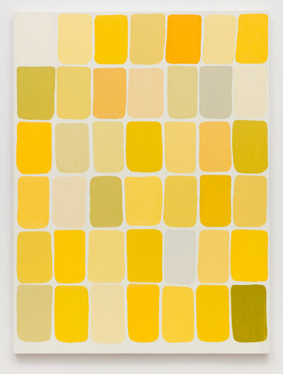 Meg Cranston, 'Hue Saturation Value (Yellow)', 2018