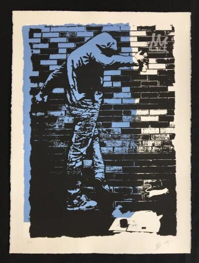 Blek le Rat, 'The King Of Chicago ', 2017