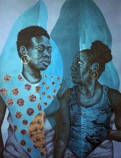 Delita Martin, 'Travelers (Self Portrait)', 2019