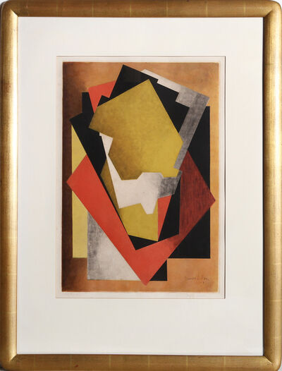 Jacques Villon, 'Composition (Ginestet-Pouillon E660)', 1927