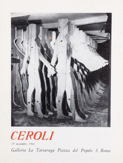 Mario Ceroli, 'Ceroli', 1966