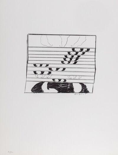 Franco Angeli, 'Study for half dollar'